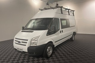 2012 Ford Transit VM MY13 350 High Roof Frozen White 6 speed Manual Van.