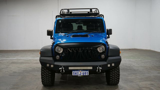 Used Jeep Wrangler JK MY2016 Unlimited Sport Welshpool, 2016 Jeep Wrangler JK MY2016 Unlimited Sport Blue 5 Speed Automatic Softtop