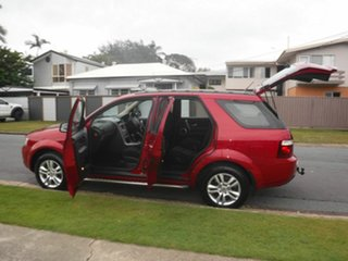 2009 Ford Territory SY MkII TS Red 6 Speed Automatic Wagon