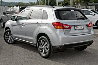 2014 Mitsubishi ASX XB MY15 XLS 2WD Silver 6 Speed Constant Variable Wagon.