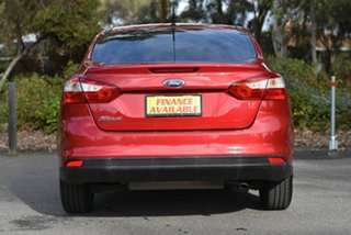2012 Ford Focus LW MkII Ambiente PwrShift Red 6 Speed Sports Automatic Dual Clutch Sedan