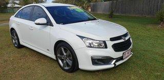 2016 Holden Cruze Z Series White 6 Speed Automatic Sedan