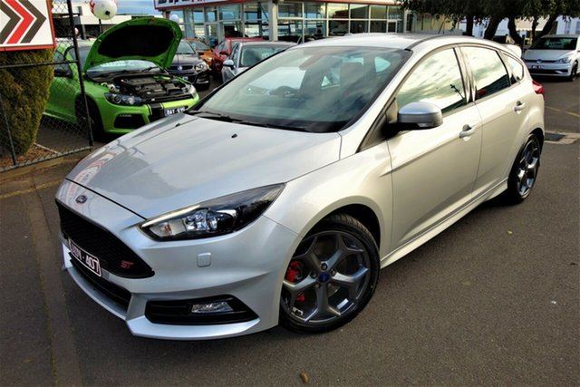 Used Ford Focus LZ ST Seaford, 2015 Ford Focus LZ ST Silver 6 Speed Manual Hatchback