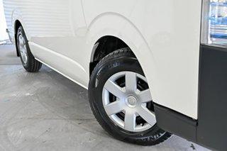 2015 Toyota HiAce KDH201R LWB French Vanilla 4 Speed Automatic Van.