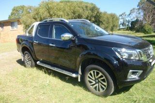 2019 Nissan Navara D23 S4 MY19 ST-X Black 7 Speed Sports Automatic Utility.