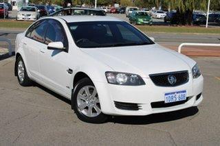 2011 Holden Commodore VE II Omega White 6 Speed Sports Automatic Sedan