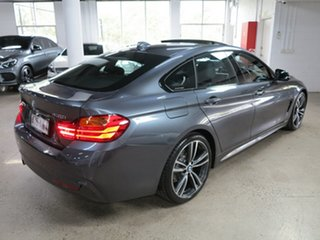2016 BMW 4 Series F36 430i Gran Coupe M Sport Mineral Grey 8 Speed Sports Automatic Hatchback