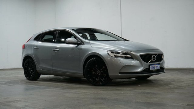 Used Volvo V40 M Series MY17 T3 Adap Geartronic Momentum Welshpool, 2016 Volvo V40 M Series MY17 T3 Adap Geartronic Momentum Electric Silver 6 Speed Sports Automatic
