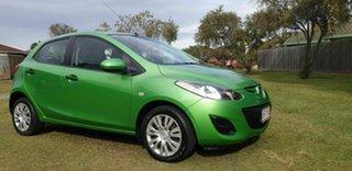 2010 Mazda 2 DE10Y1 Neo Green 5 Speed Manual Hatchback.