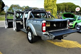 2012 Nissan Navara D22 S5 MY12 ST-R Special Edition Silver 5 Speed Manual Utility