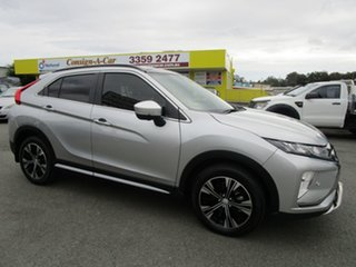 2018 Mitsubishi Eclipse Cross YA MY18 Exceed 2WD Silver 8 Speed Constant Variable Wagon.