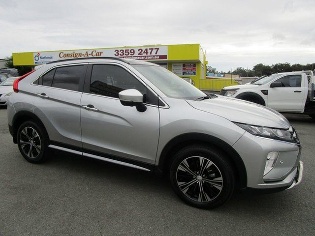 Used Mitsubishi Eclipse Cross YA MY18 Exceed 2WD Kedron, 2018 Mitsubishi Eclipse Cross YA MY18 Exceed 2WD Silver 8 Speed Constant Variable Wagon