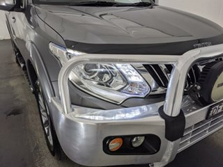 2016 Mitsubishi Triton MQ MY17 GLS Double Cab Grey 5 Speed Sports Automatic Utility.