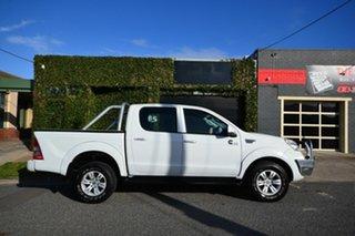 2013 Foton Tunland P201 Luxury (4x4) White 5 Speed Manual Dual Cab Utility.
