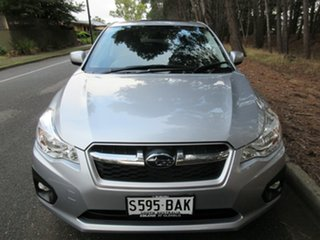 2013 Subaru Impreza G4 MY13 2.0i-L Lineartronic AWD Silver 6 Speed Constant Variable Hatchback