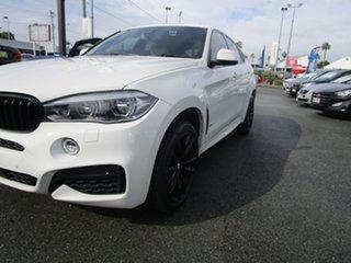 2019 BMW X6 F16 xDrive30d Coupe Steptronic White 8 Speed Sports Automatic Wagon