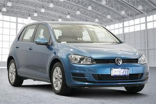 2015 Volkswagen Golf VII MY16 92TSI DSG Comfortline Pacific Blue 7 Speed.