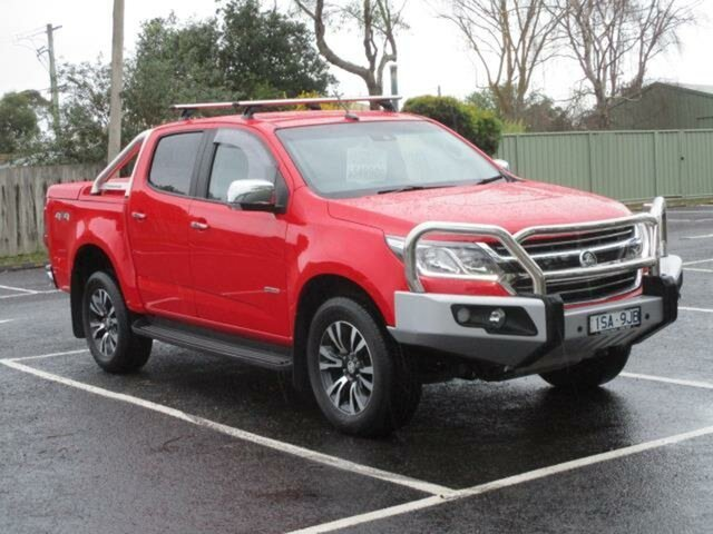 Used Holden Colorado LTZ Timboon, 2019 Holden Colorado RG Turbo LTZ Absolute Red Automatic Utility