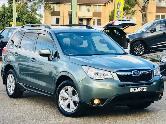 Used Subaru Forester S4 MY15 2.0D-L CVT AWD Liverpool, 2015 Subaru Forester S4 MY15 2.0D-L CVT AWD Green 7 Speed Constant Variable Wagon