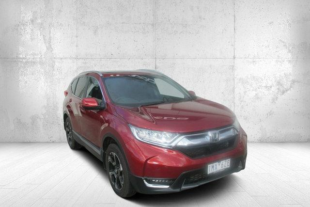 Used Honda CR-V RW MY18 VTi-LX 4WD Bendigo, 2018 Honda CR-V RW MY18 VTi-LX 4WD Red 1 Speed Constant Variable Wagon