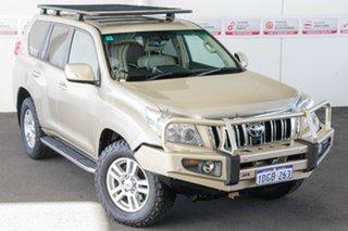 2010 Toyota Landcruiser Prado GRJ150R Kakadu (4x4) Sandstone 5 Speed Sequential Auto Wagon.
