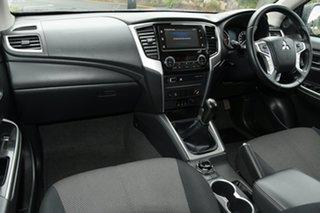 2019 Mitsubishi Triton MR MY20 GLS Double Cab White 6 Speed Manual Utility