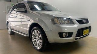 2009 Ford Territory SY MkII Ghia (RWD) Silver 4 Speed Auto Seq Sportshift Wagon.