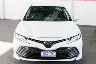 2019 Toyota Camry AXVH71R Ascent Glacier White 6 Speed Constant Variable Sedan Hybrid.