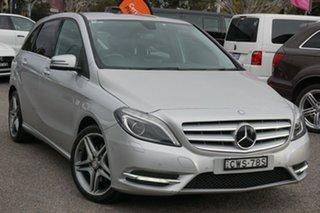 2014 Mercedes-Benz B-Class W246 B200 CDI DCT Silver 7 Speed Sports Automatic Dual Clutch Hatchback.