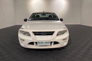2014 Ford Falcon FG MkII Ute Super Cab White 6 speed Automatic Utility.