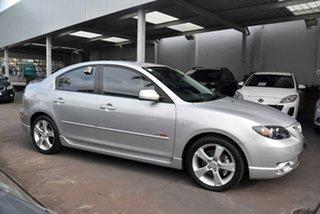2005 Mazda 3 BK1031 SP23 Silver 5 Speed Manual Sedan.