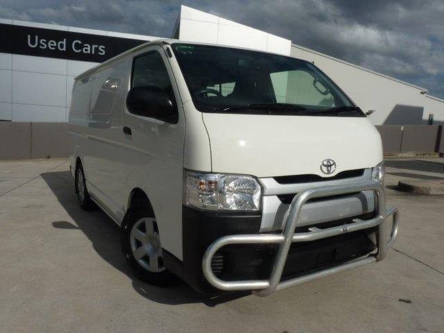 Pre-Owned Toyota HiAce KDH201R LWB Blacktown, 2017 Toyota HiAce KDH201R LWB French Vanilla 4 Speed Automatic Van