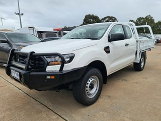 2019 Ford Ranger PX MkIII 2019.00MY XL White 6 Speed Manual Super Cab Chassis