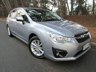 2013 Subaru Impreza G4 MY13 2.0i-L Lineartronic AWD Silver 6 Speed Constant Variable Hatchback.