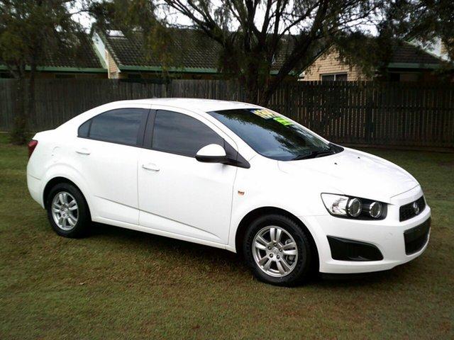 Used Holden Barina TM MY13 CD Kippa-Ring, 2013 Holden Barina TM MY13 CD White 6 Speed Automatic Sedan