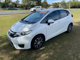 2017 Honda Jazz GF MY18 VTi White 1 Speed Constant Variable Hatchback.