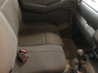 2011 Nissan Navara D40 RX Polar White 6 Speed Manual Cab Chassis