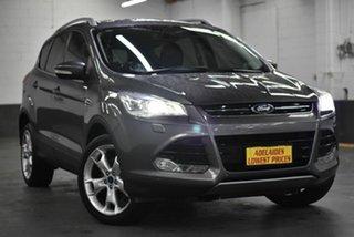 2013 Ford Kuga TE Titanium AWD Grey 5 Speed Sports Automatic Wagon.