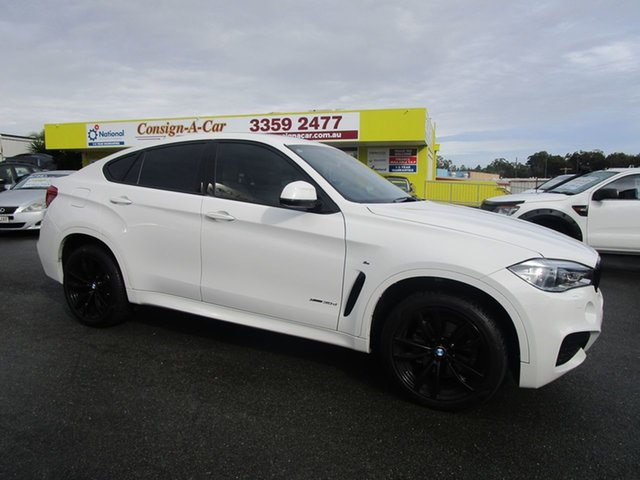Used BMW X6 F16 xDrive30d Coupe Steptronic Kedron, 2019 BMW X6 F16 xDrive30d Coupe Steptronic White 8 Speed Sports Automatic Wagon