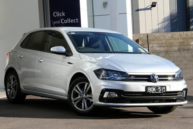 Demo Volkswagen Polo AW MY21 85TSI DSG Comfortline Port Melbourne, 2021 Volkswagen Polo AW MY21 85TSI DSG Comfortline Silver 7 Speed Sports Automatic Dual Clutch