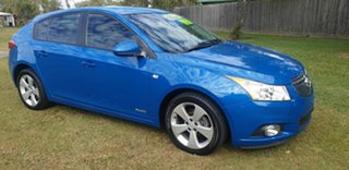 2013 Holden Cruze JH Series II MY13 Equipe Blue 6 Speed Sports Automatic Hatchback.