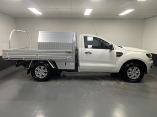 2016 Ford Ranger PX MkII XL Cool White 6 Speed Manual Cab Chassis
