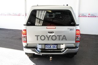2012 Toyota Hilux KUN26R MY12 SR5 (4x4) Sterling Silver 4 Speed Automatic Dual Cab Pick-up