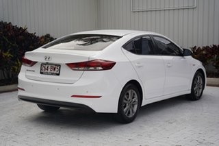 2017 Hyundai Elantra AD MY17 Active White 6 Speed Sports Automatic Sedan