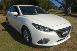 2014 Mazda 3 BM5478 Touring SKYACTIV-Drive White 6 Speed Sports Automatic Hatchback.