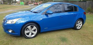 2013 Holden Cruze JH Series II MY13 Equipe Blue 6 Speed Sports Automatic Hatchback