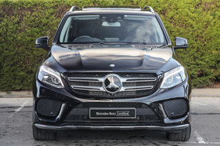 2016 Mercedes-Benz GLE-Class W166 GLE350 d 9G-Tronic 4MATIC Obsidian Black 9 Speed Sports Automatic