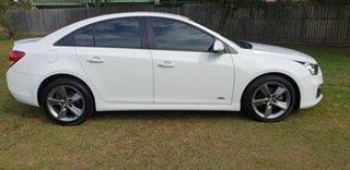 2016 Holden Cruze Z Series White 6 Speed Automatic Sedan.