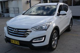 2014 Hyundai Santa Fe DM MY14 Elite White 6 Speed Sports Automatic Wagon.