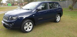 2013 Jeep Compass MK MY14 Sport Blue 6 Speed Sports Automatic Wagon.